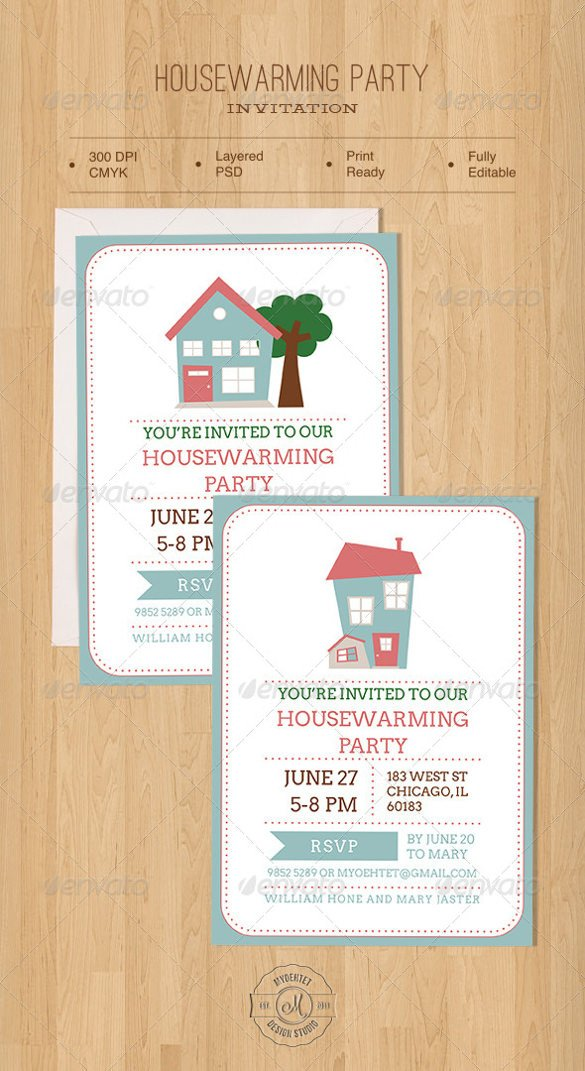 Housewarming Party Invitations Templates Housewarming Invitation Template – 30 Free Psd Vector
