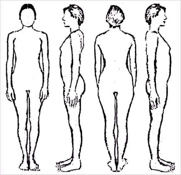 Human Body Outline Drawing Human Body Outline Drawing at Getdrawings