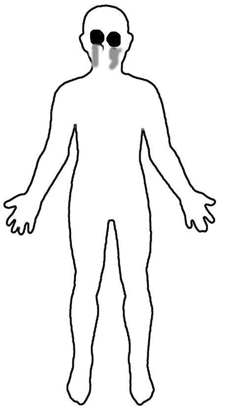 Human Body Outline Drawing Tears Sms someordinarygamers Wiki