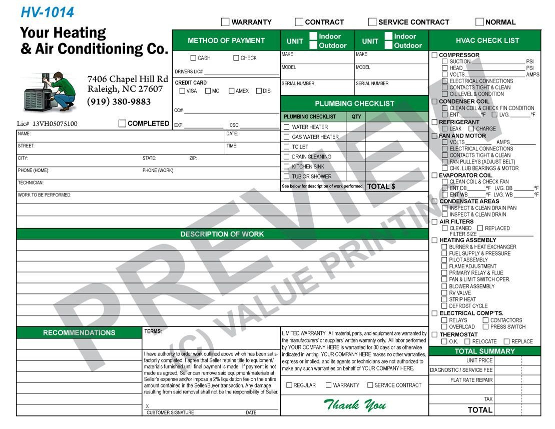 Hvac Inspection Report Template This is A Plumbing Checklist Bined with A Standard Hvac