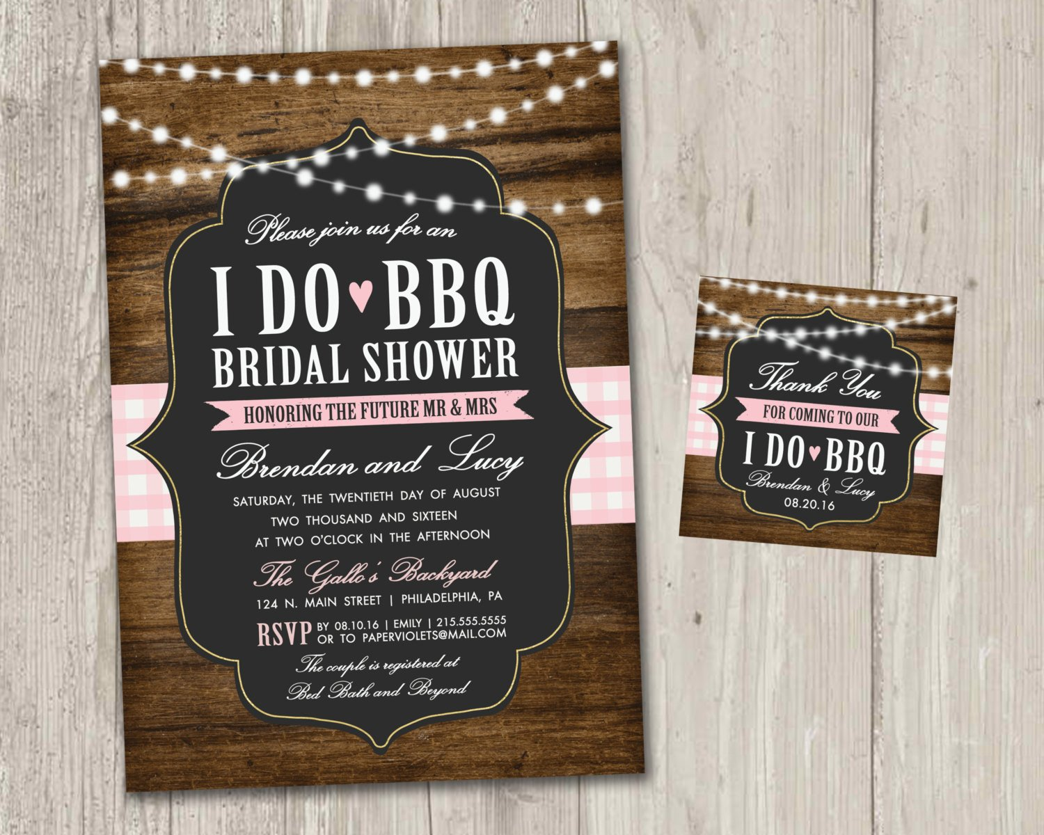 I Do Bbq Invitations I Do Bbq Bridal Shower Invitations Backyard Wedding