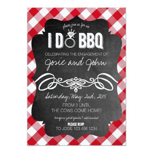 I Do Bbq Invitations I Do Bbq Invitation