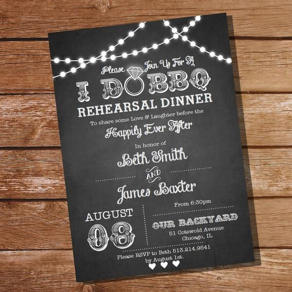 I Do Bbq Invitations I Do Bbq Rehearsal Dinner Invitation Instant Download and