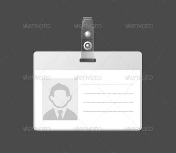 Id Badge Template Free Online 31 Blank Id Card Templates Psd Ai Vector Eps Doc