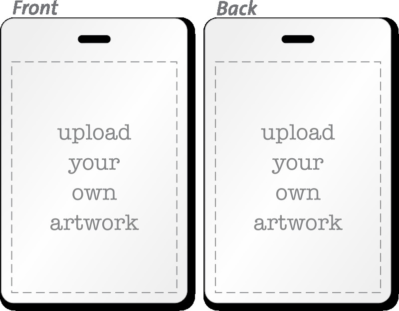 Id Badge Template Free Online Custom Bi Fold Badges