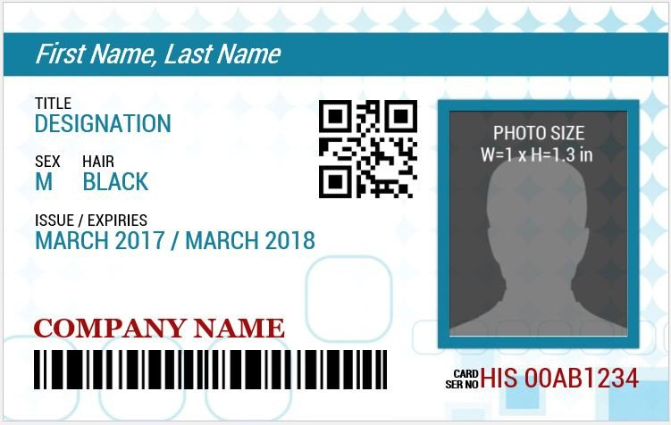 Id Badge Template Free Online Ms Word Id Badge Sample Template