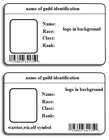 Id Badge Template Free Online Template Printable Gallery Category Page 23
