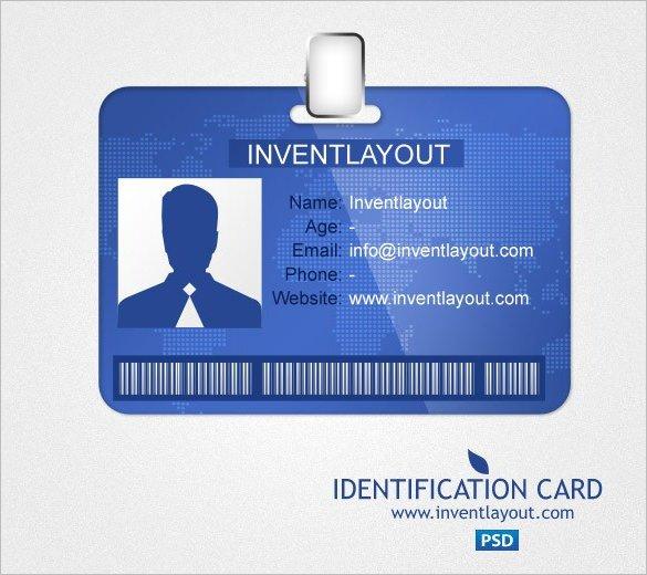 Id Card Template Photoshop 29 Id Card Templates Psd