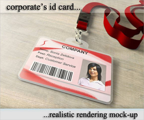 Id Card Template Photoshop 36 Amazing Id Card Templates Ai Word Apple Pages