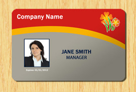Id Card Template Photoshop Employee Id Template 3 Other Files