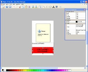 Id Card Template Photoshop Free Download Shop Id Cards Templates