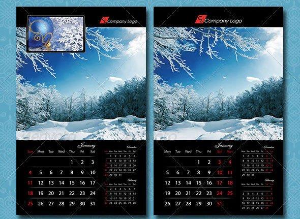 In Design Calendar Templates 16 Calendar Indesign Templates for Year 2015 – Design Freebies