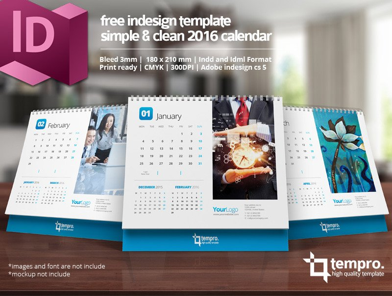 In Design Calendar Templates Free 2016 Calendar Template On Behance