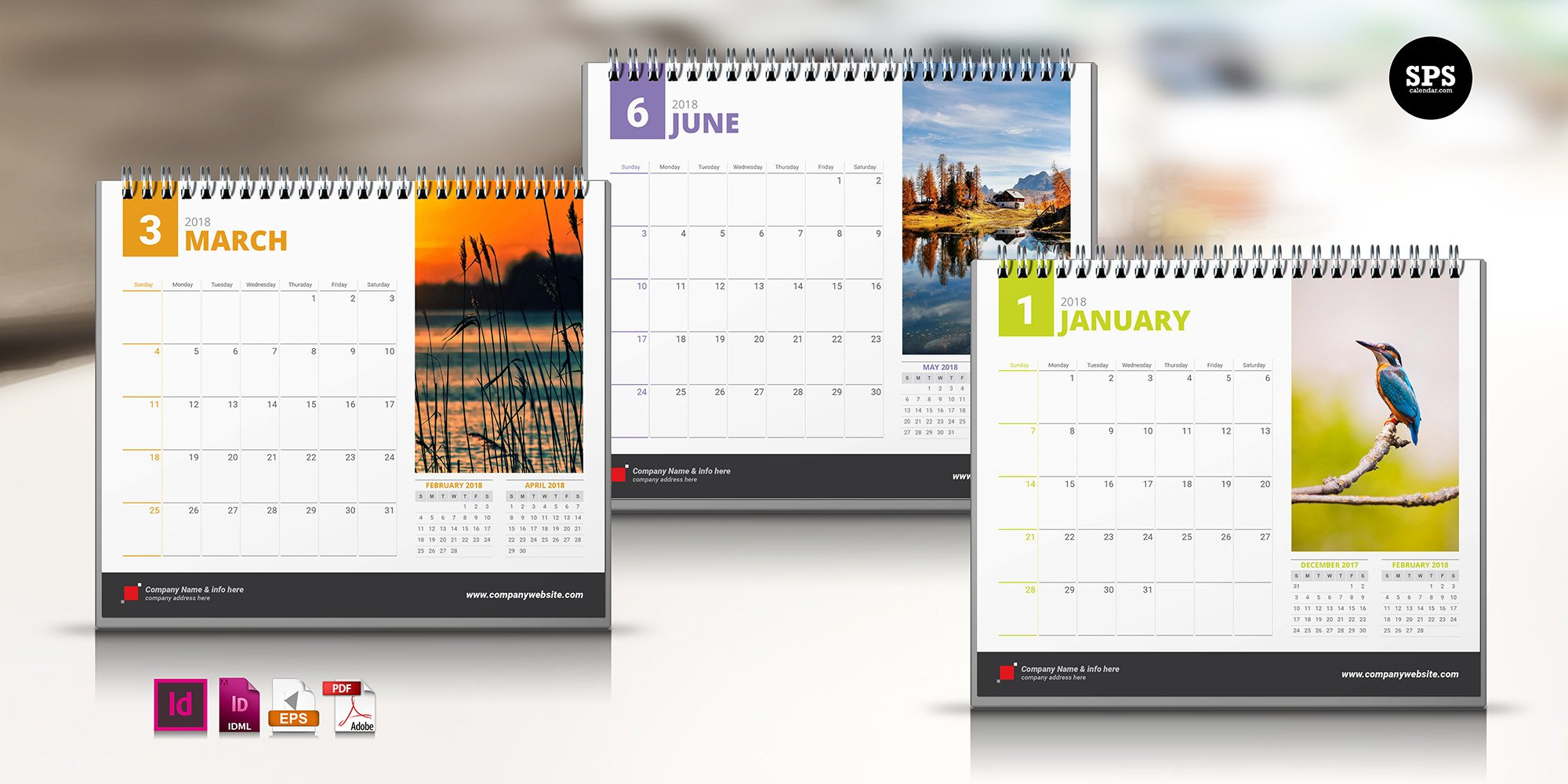 In Design Calendar Templates Free Template Spscalendar