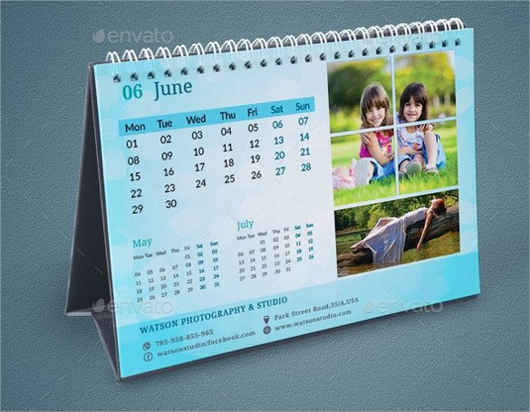 In Design Calendar Templates Indesign Calendar Template 9 Premium Download