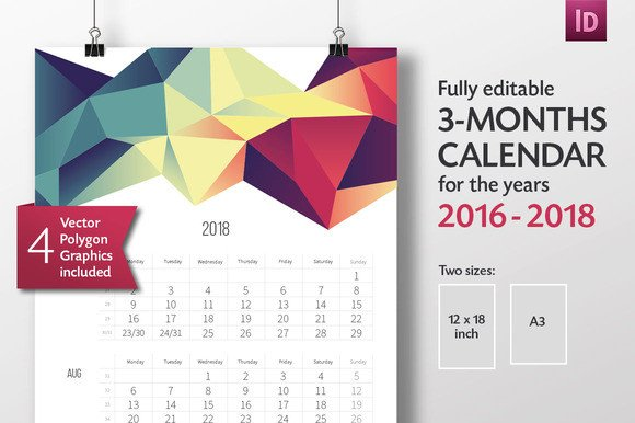 In Design Calendar Templates Indesign Calendar Template Free Download Designtube