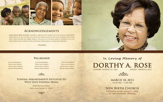 In Loving Memory Template Free In Loving Memory Funeral Program Template 005 by Loswl On