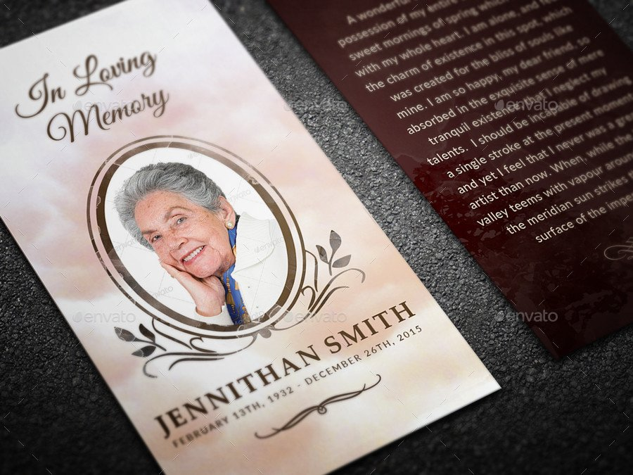In Loving Memory Template Free Loving Memory Funeral Print Templates Bo Set by