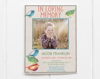In Loving Memory Templates the Story In Memory Celebration Of Life Funeral