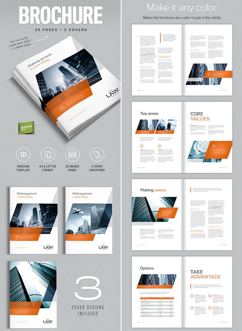 Indesign Book Layout Template 20 Best Indesign Brochure Templates for Creative
