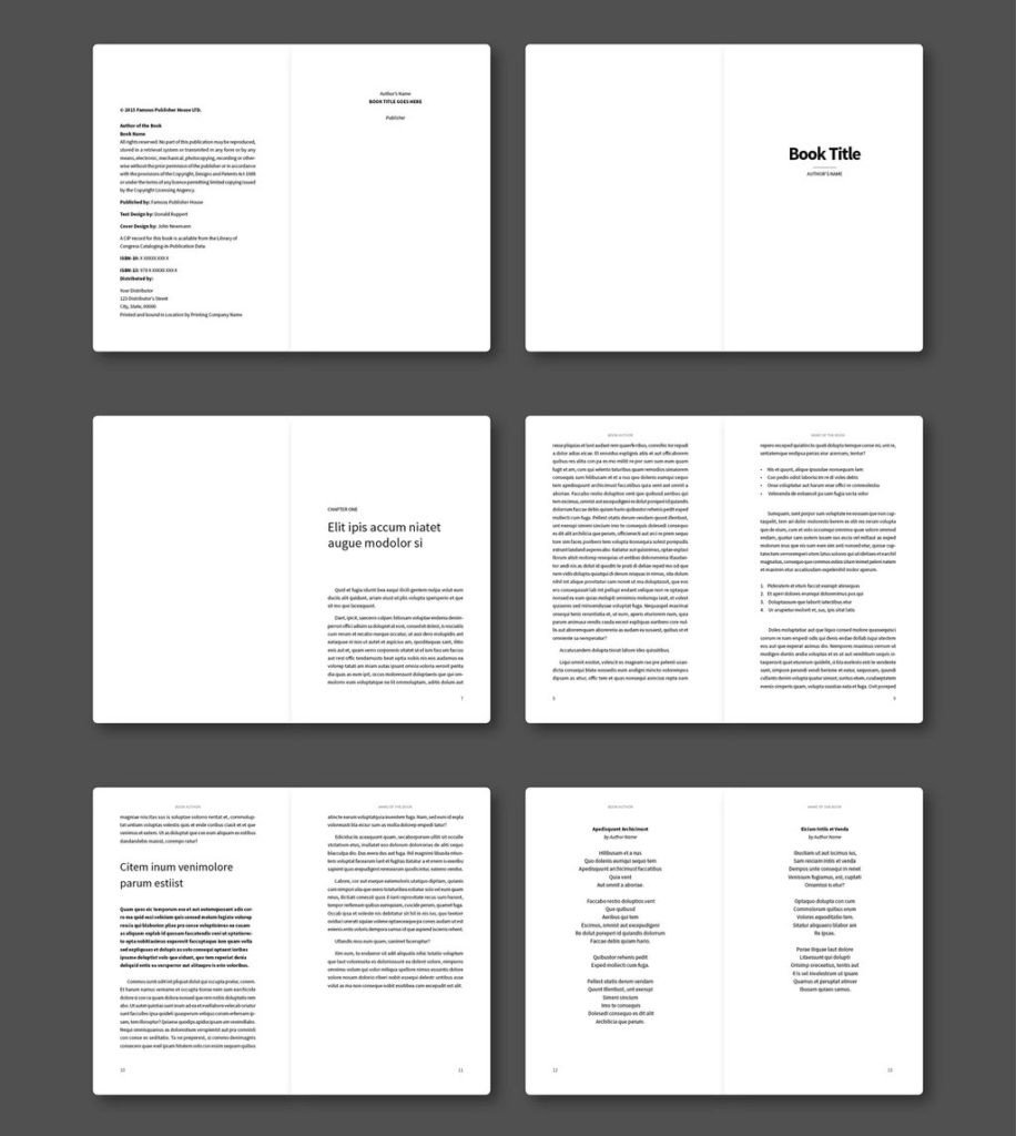 Indesign Book Layout Template 65 Fresh Indesign Templates and where to Find More