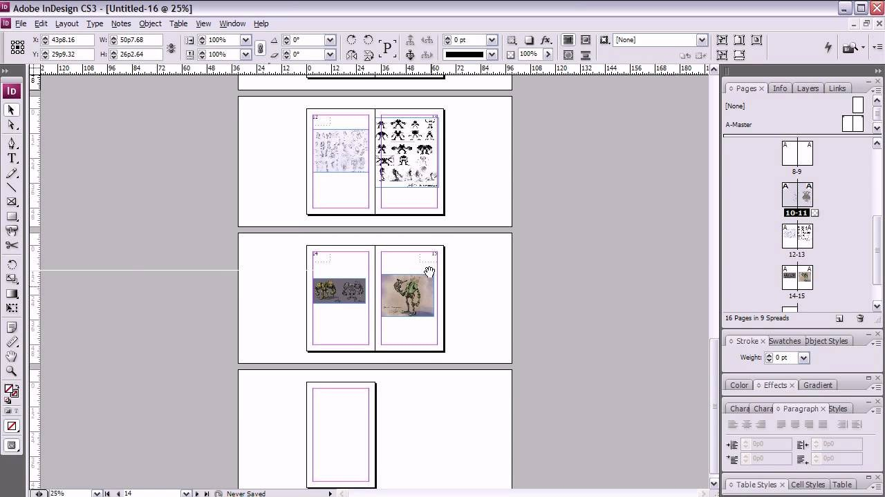 Indesign Book Layout Template Artist S Crash Course Booklet Printing In Indesign