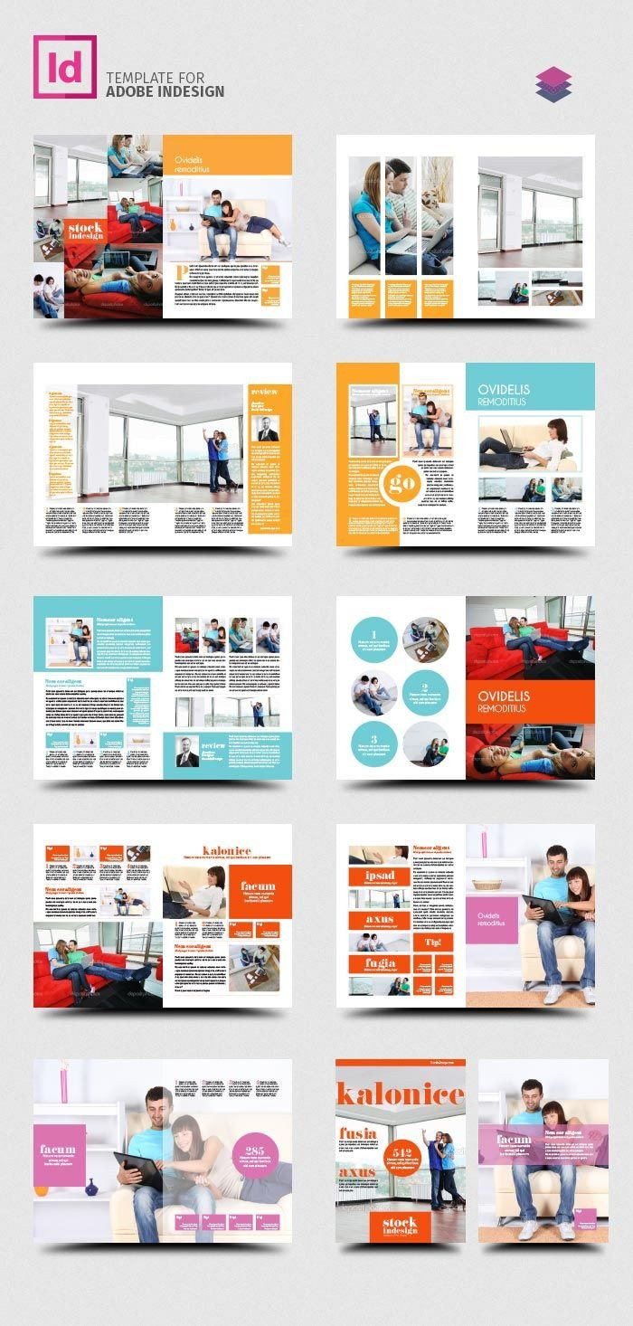 Indesign Book Layout Template Free Indesign Pro Magazine Template Kalonice