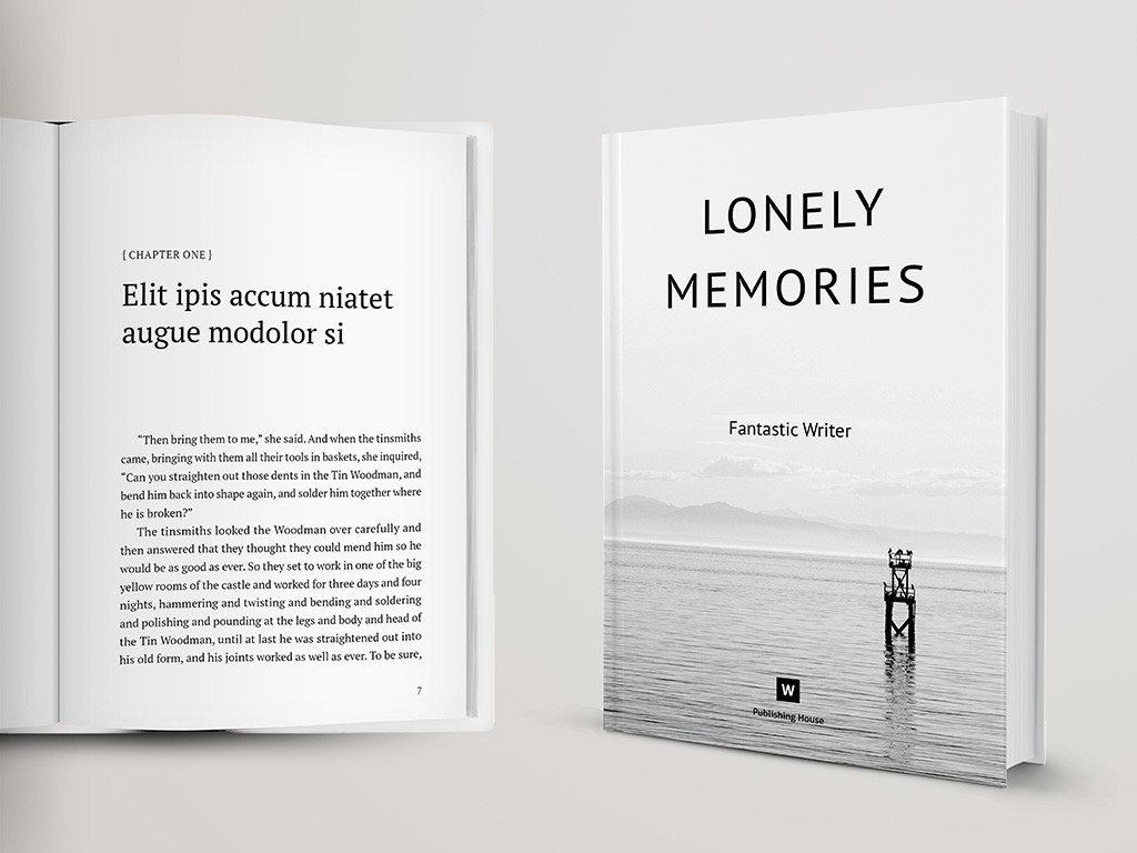 Indesign Book Layout Template Novel and Poetry Book Template – themzy Templates
