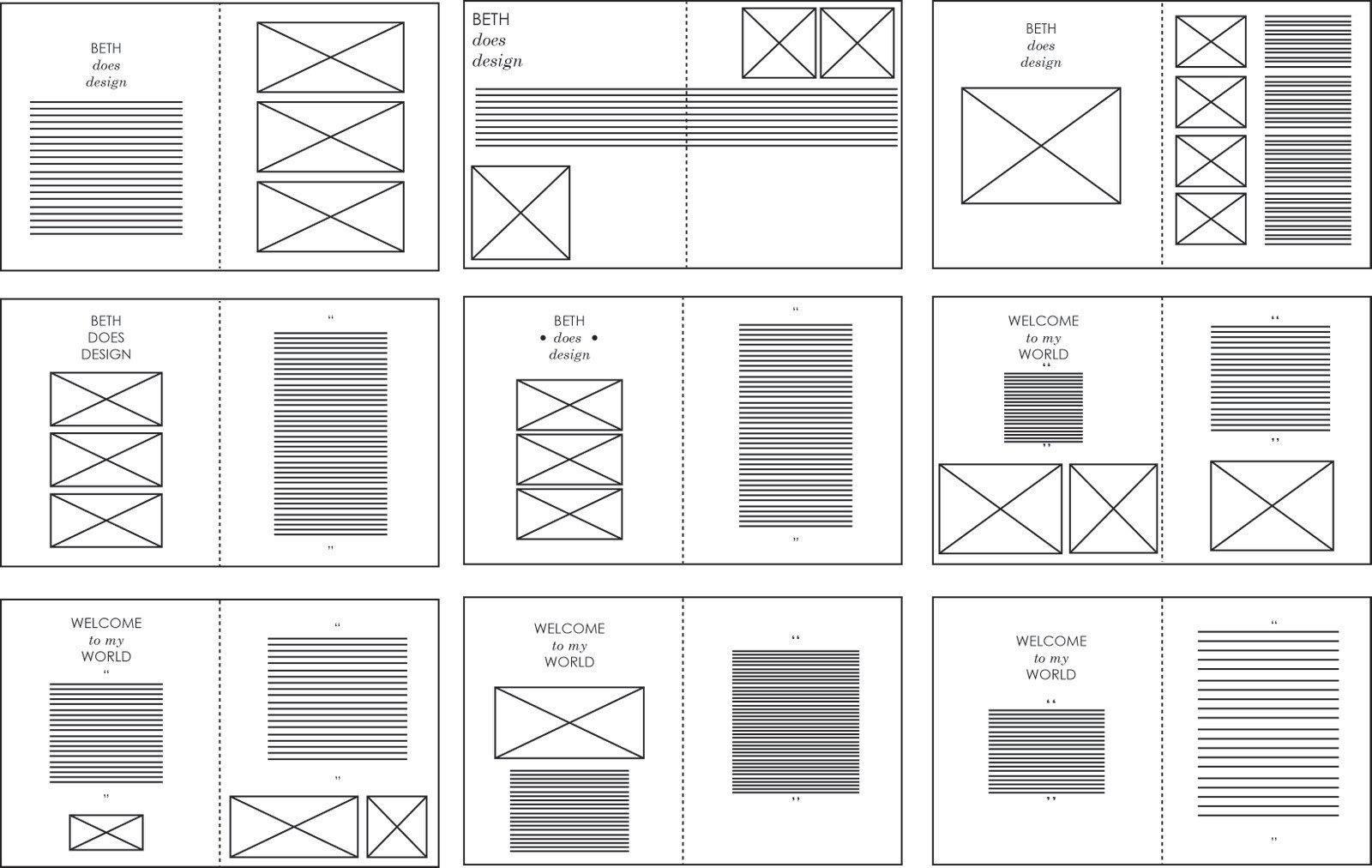 Indesign Book Layout Template sophie Wilson Design Practice Indesign Layouts Vectored