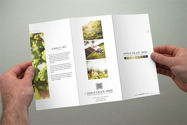 Indesign Trifold Brochure Templates 20 Awesome Indesign & Psd Graphy Brochure Templates