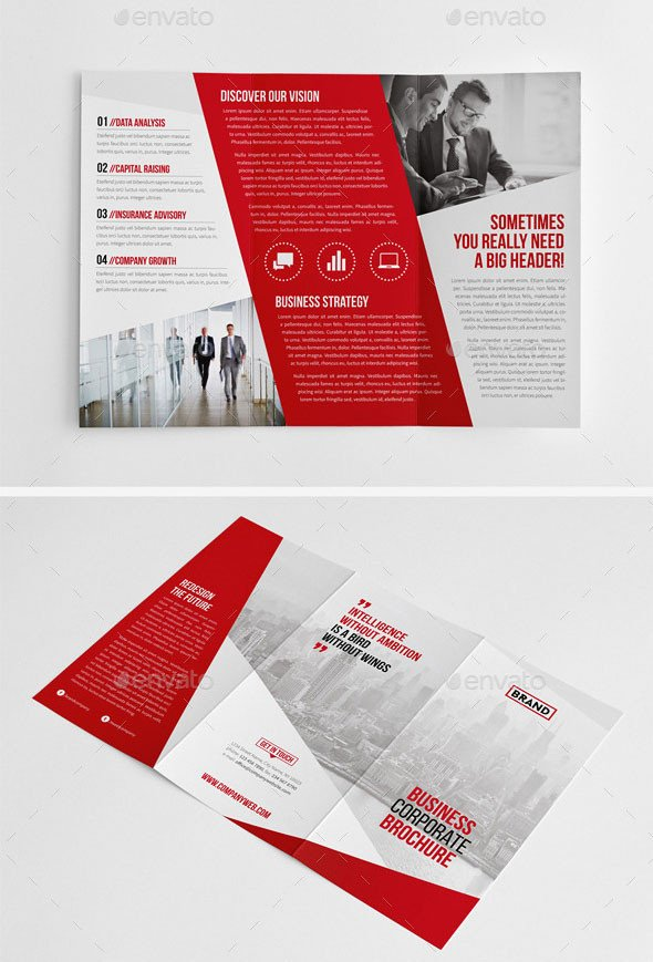 Indesign Trifold Brochure Templates 30 Eye Catching Psd & Indesign Brochure Templates – Bashooka