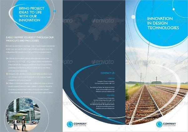 Indesign Trifold Brochure Templates Brochure Layout Template – 23 Free Psd Ai Vector Eps
