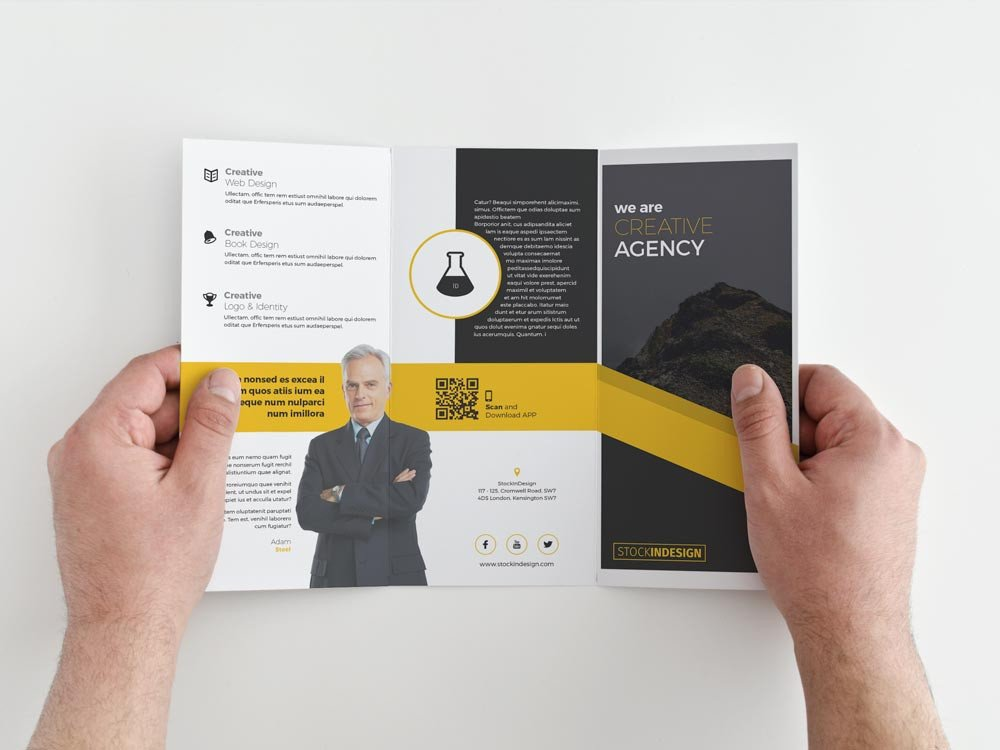 Indesign Trifold Brochure Templates Free Trifold Brochure Free Indesign Templates