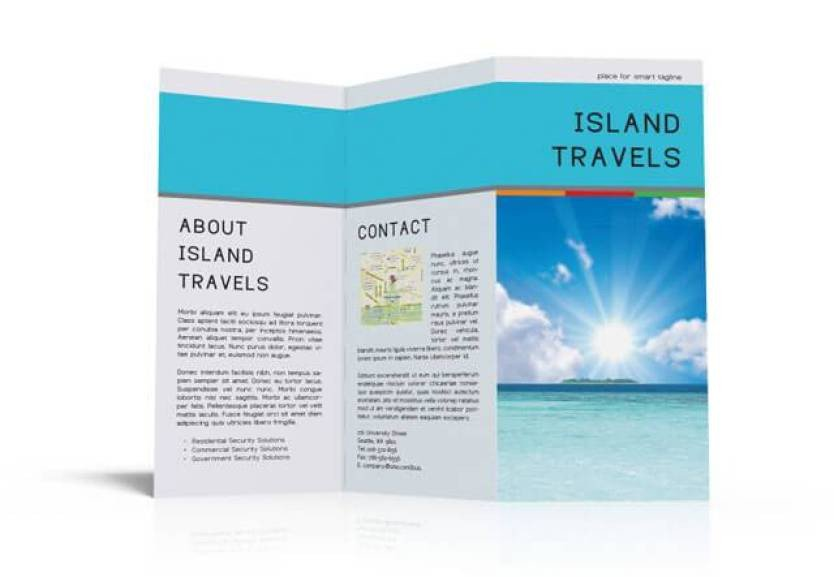 Indesign Trifold Brochure Templates Indesign Tri Fold Brochure Template Free Download