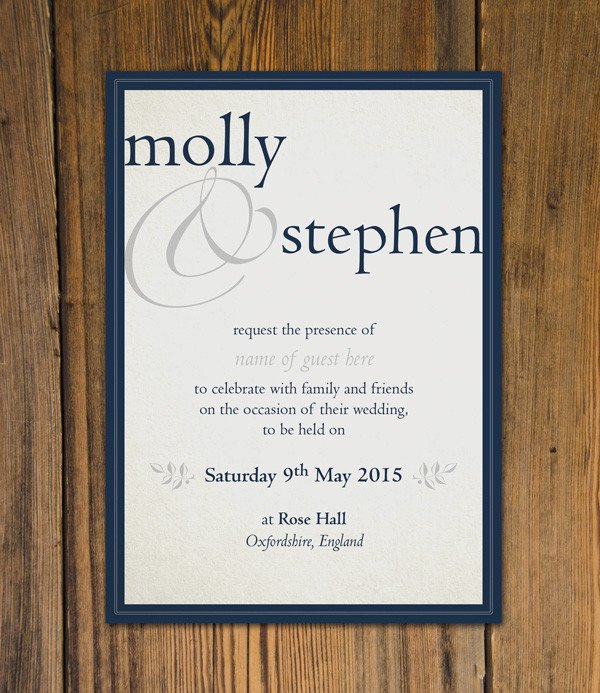 Indesign Wedding Invitation Template Create Beautiful Wedding Invitations Using Adobe Indesign