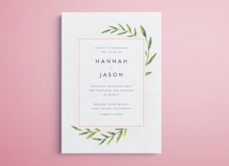 Indesign Wedding Invitation Template Free Indesign Templates 50 Beautiful Templates for Indesign