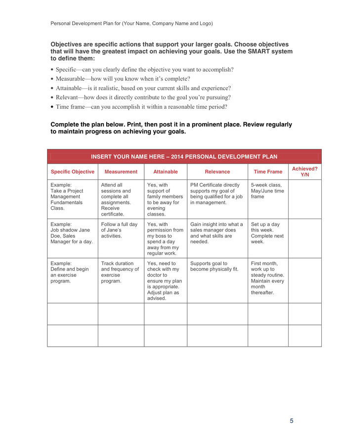 Individual Development Plan Template Find Out About Depression with these Basic to Follow Tips