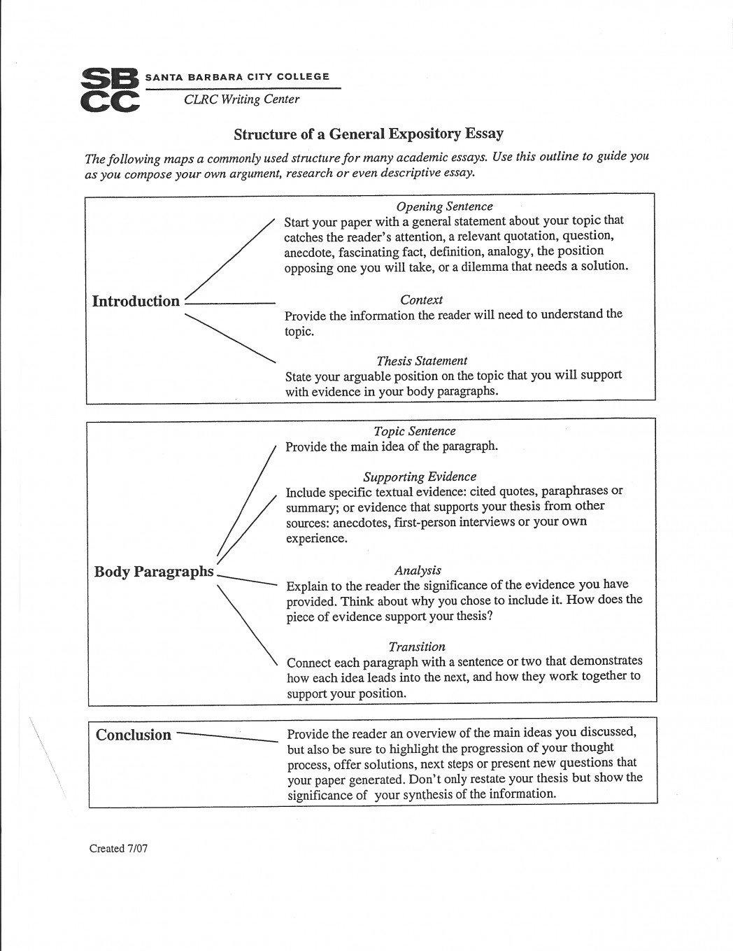 Informative Essay Outline Template Informative Essay Outline 5th Grade