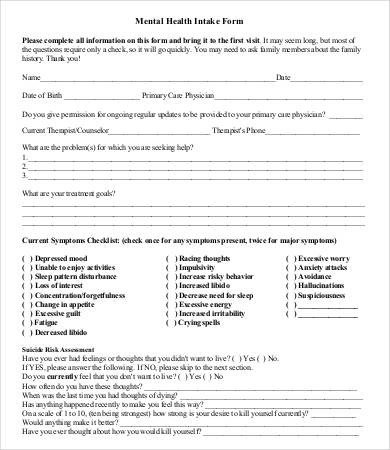 Intake form Template Word Patient Intake form Template How to Have A Fantastic