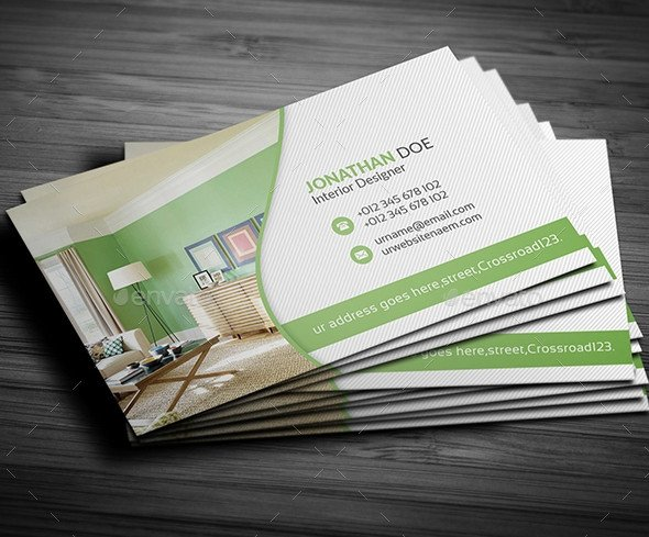 Interior Design Business Cards 12 Awesome Interior Design Business Card Templates Ms