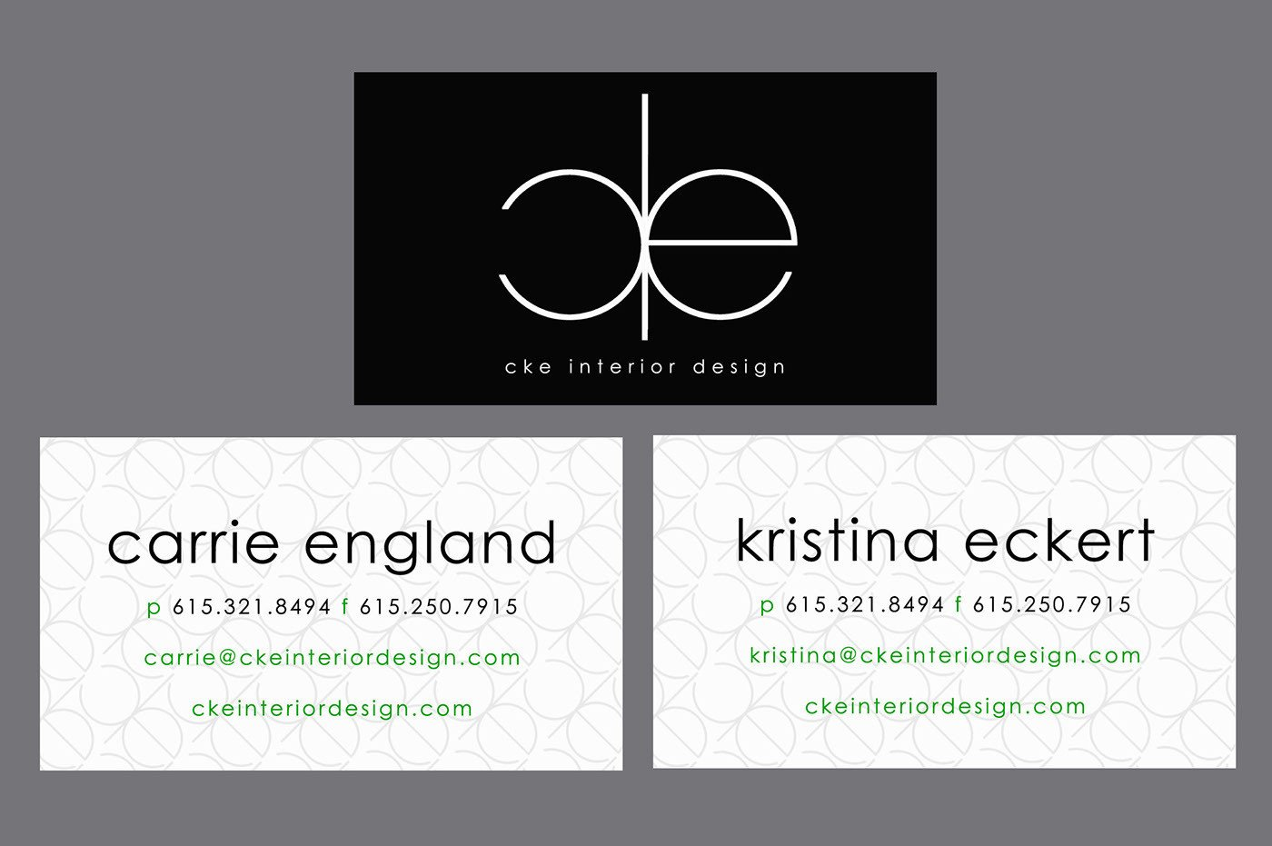 Interior Design Business Cards Cke Interior Design Business Cards On Behance
