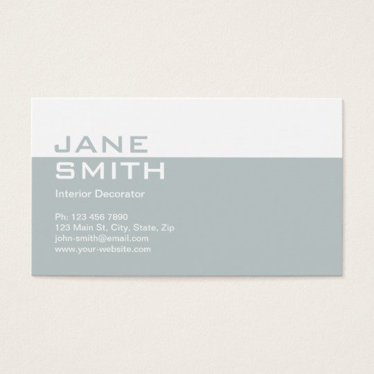 Interior Design Business Cards Elegant Professional Interior Design Decorator Business