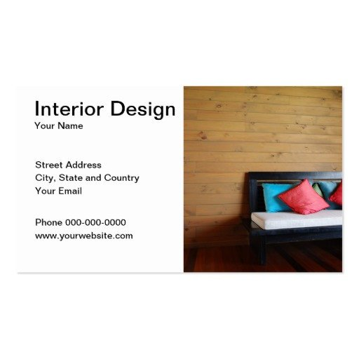 Interior Design Business Cards Interior Design Business Card Business Card