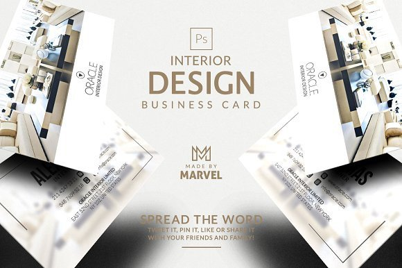 Interior Design Business Cards Interior Design Business Card Kreativ Graphic