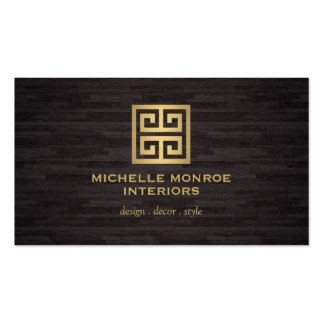 Interior Design Business Cards Interior Design Business Cards & Templates