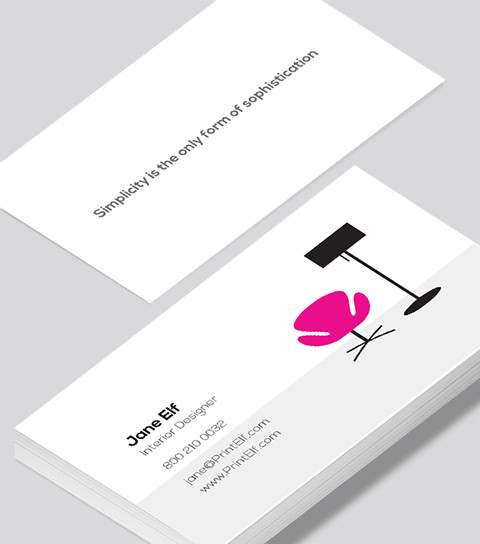 Interior Design Business Cards Interior Designer Business Card Modern Design