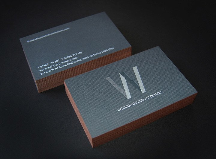 Interior Design Business Cards Websters Interior Designers Lovely Stationery Curating