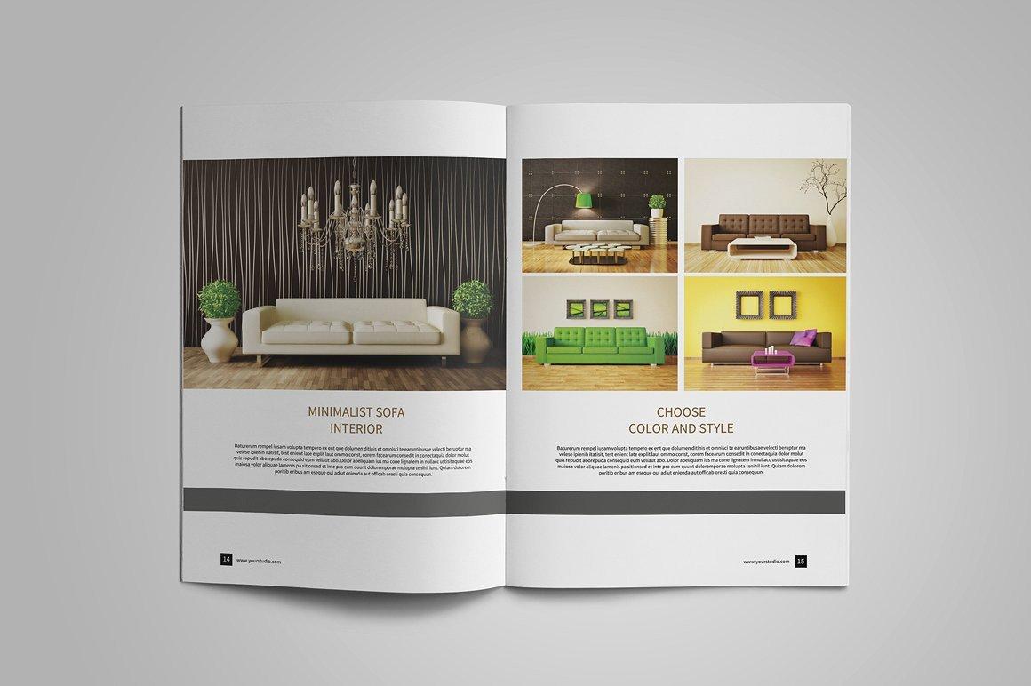 Interior Design Portfolio Template 10 Interior Design Portfolio Examples Editable Psd Ai