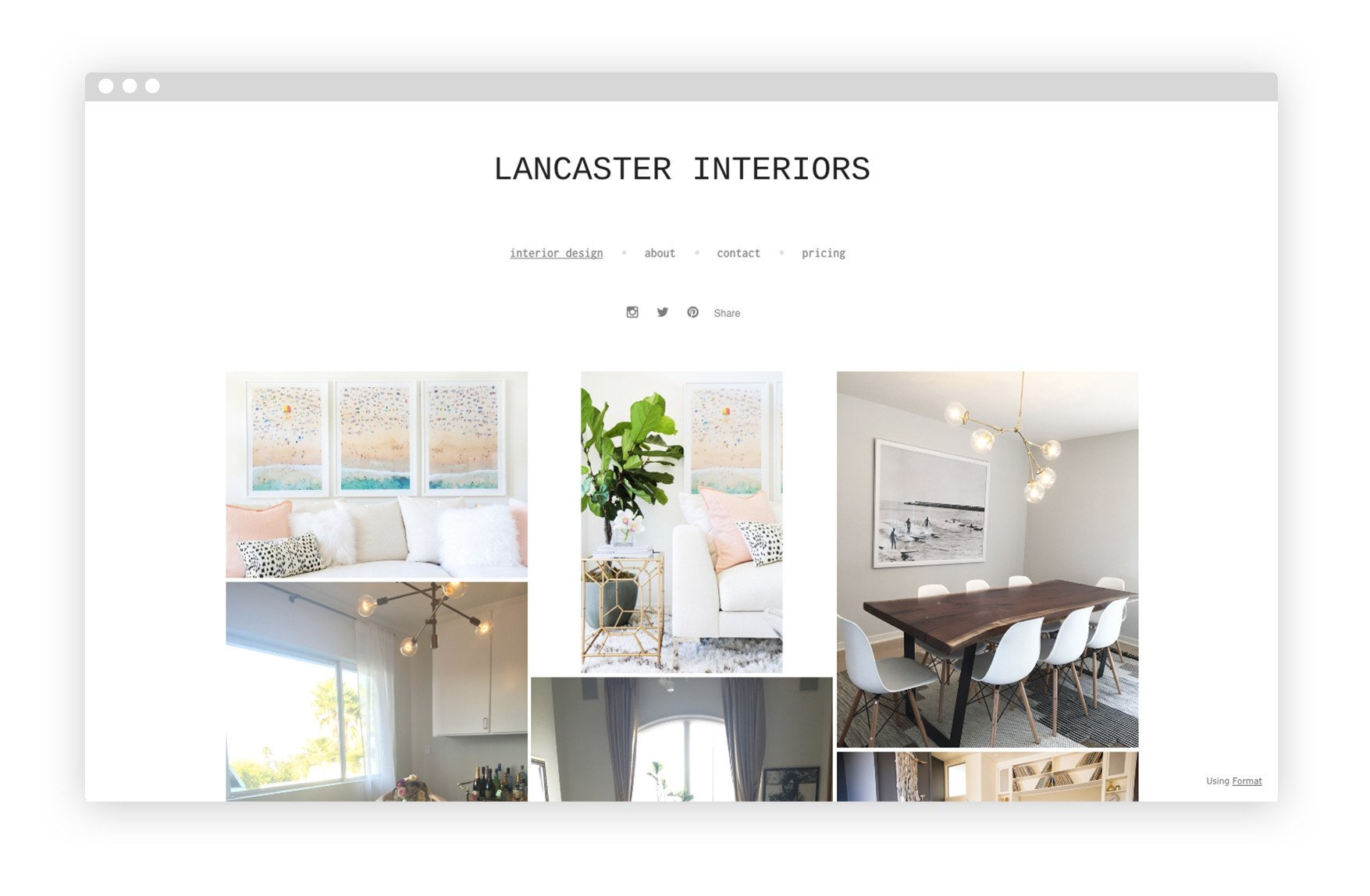 Interior Design Portfolio Template 12 Interior Design Portfolio Website Examples We Love