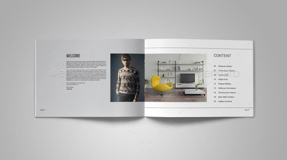 Interior Design Portfolio Template 25 Really Awesome Portfolio Brochure Templates – Bashooka
